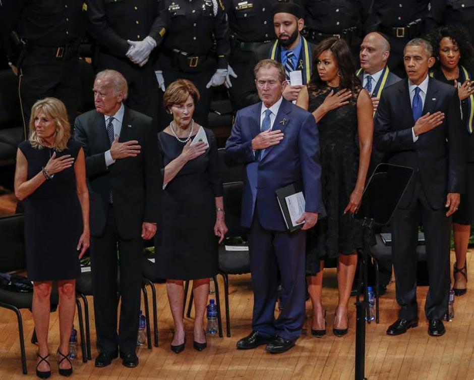 A la actividad asistió el presidente Barack Obama y su esposa Michelle. (Foto: Efe)