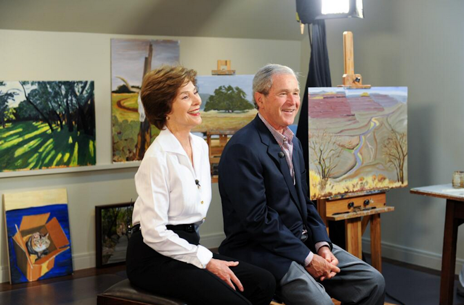 El ex mandatario estadounidense George W. Bush dedica su tiempo a la pintura. (Foto: The Bush Center)