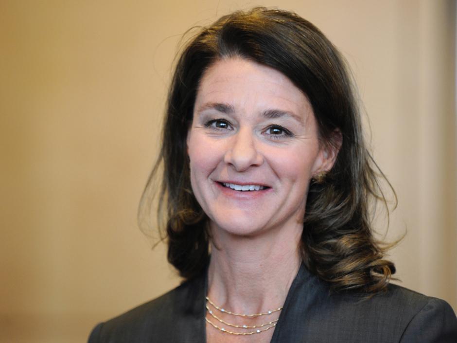 Melinda Gates, empresaria y filántropa estadounidense fue gerente de Microsoft. (Foto: businessinsider.com)