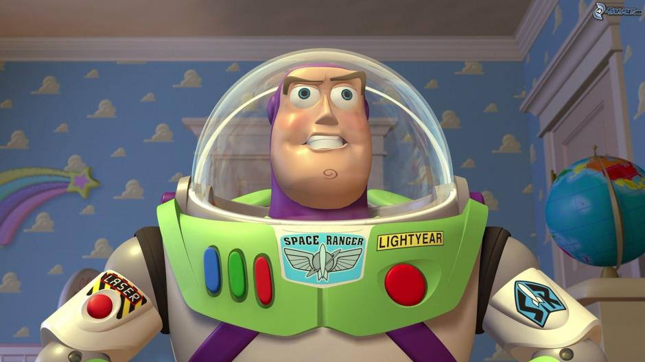 El personaje Buzz Lightyear de Toy Story. (Foto: 4ever.eu)