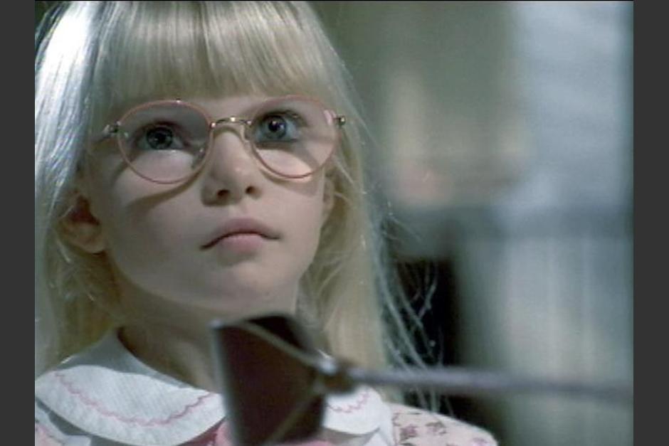 La actriz detrás de la pequeña Amanda es Jacqueline Steiger. (Foto: buzzfeed.com)