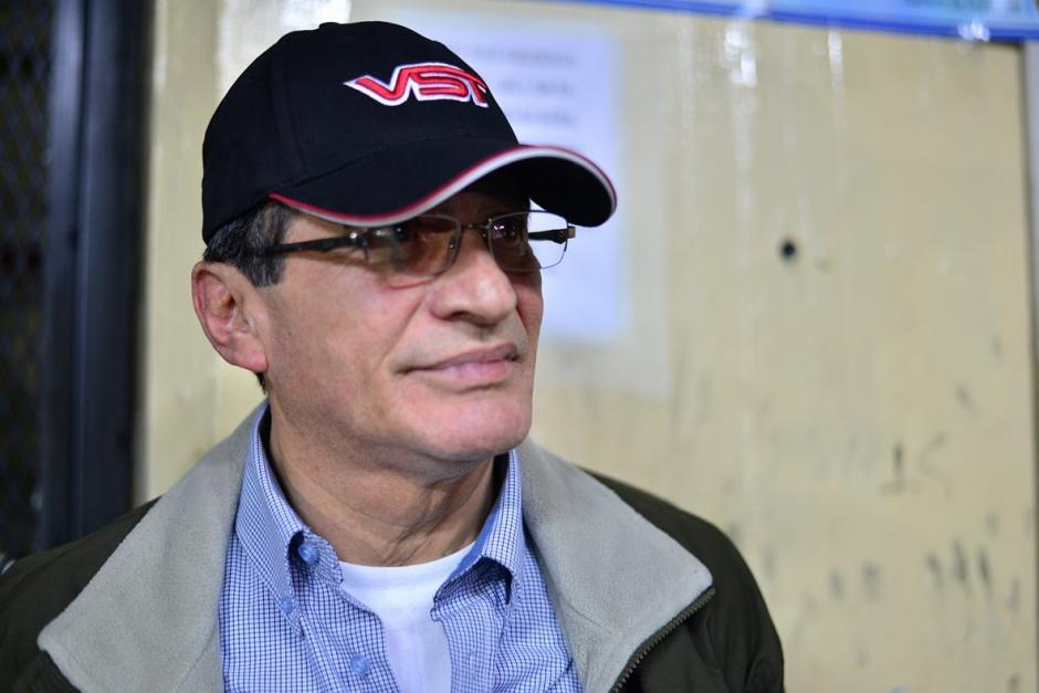 Byron Humberto Barrientos Díaz, ex ministro de Gobernación.(Foto: Wilder López/Soy502)
