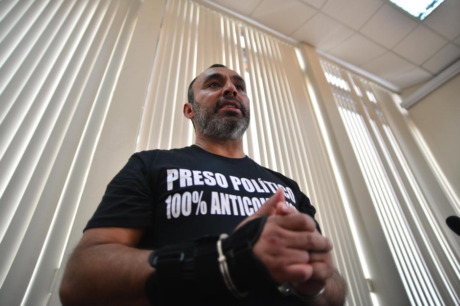 Byron Lima se consideraba un preso político. (Foto: Archivo/Soy502)