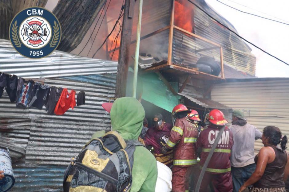 Hasta el momento no se reportan heridos. (Foto: Bomberos Municipales)