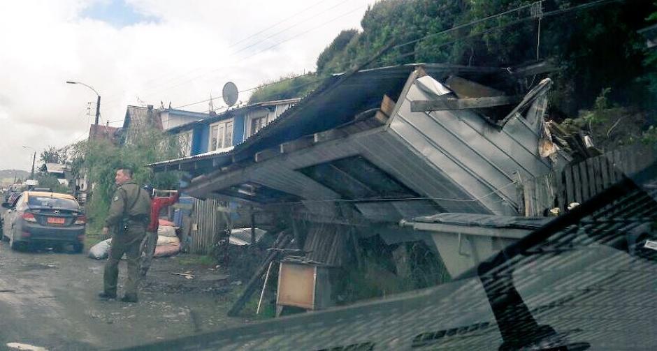 Un terremoto de 7,6 de magnitud golpeó este domingo el sur de Chile. (Foto: Twitter)