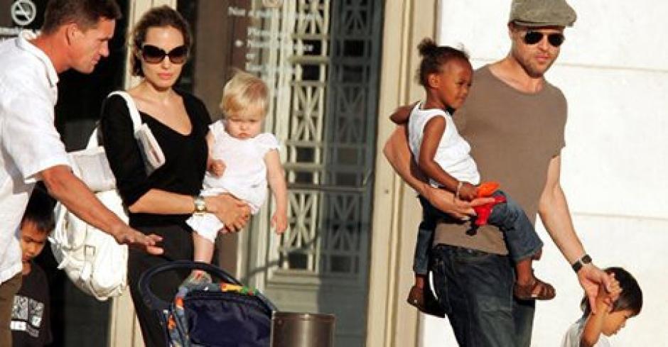 Angelina no acepta que Brad vea a sus hijos. (Foto: Twitter)