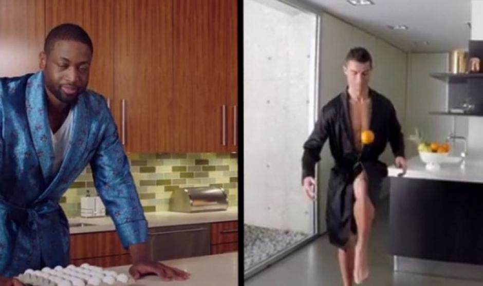 Dwyane Wade retó a Cristiano Ronaldo a preparar el desayuno. (Foto: Twitter)