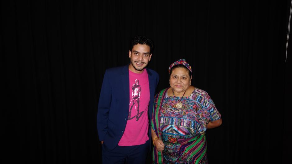 Rigoberta Menchú estuvo invitada a la presentación en Hollywood.(Foto: LAK/KZR Images)