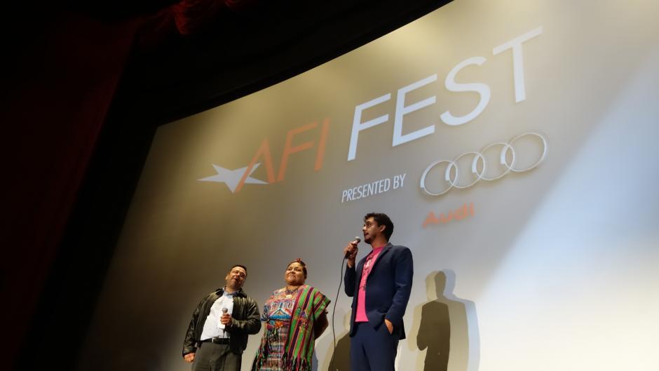 Los representantes del festival hablaron del aporte que el filme de Bustamante le ha dado a la sociedad.(Foto: LAK/KZR Images)