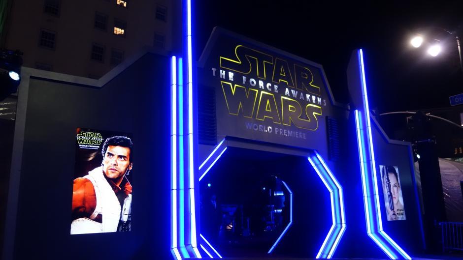 Más de 10 mil invitados asistieron a la premier de Star Wars. (Foto:LUIS KEZZER / KZR Images)