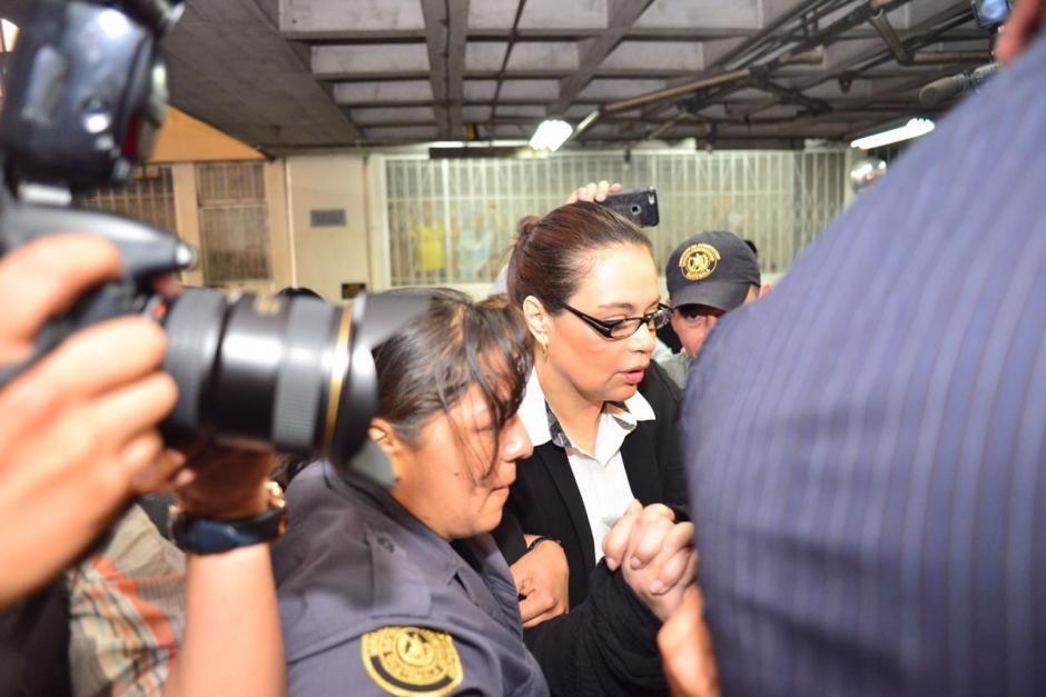 La exfuncionaria es sindicada de liderar una red de financiamiento electoral ilícito.  (Foto: Jesús Alfonso/Soy502)