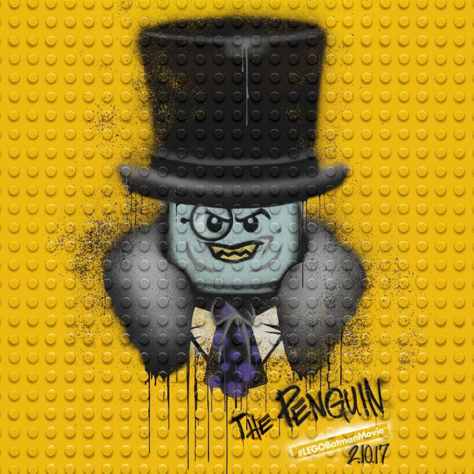 El Pingüino es uno de los personajes que aparecerán en la cinta. (Foto: Lego Batman)