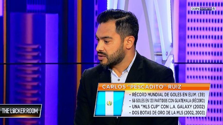 Ruiz habló sobre la suspensión del fútbol de Guatemala. (Foto: Captura de video)