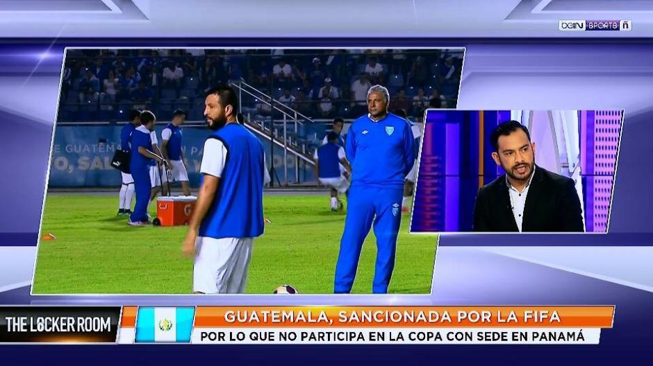"""Ruiz fue a una entrevista al programa """"The Locker Room"""". (Foto: Captura de video)"""