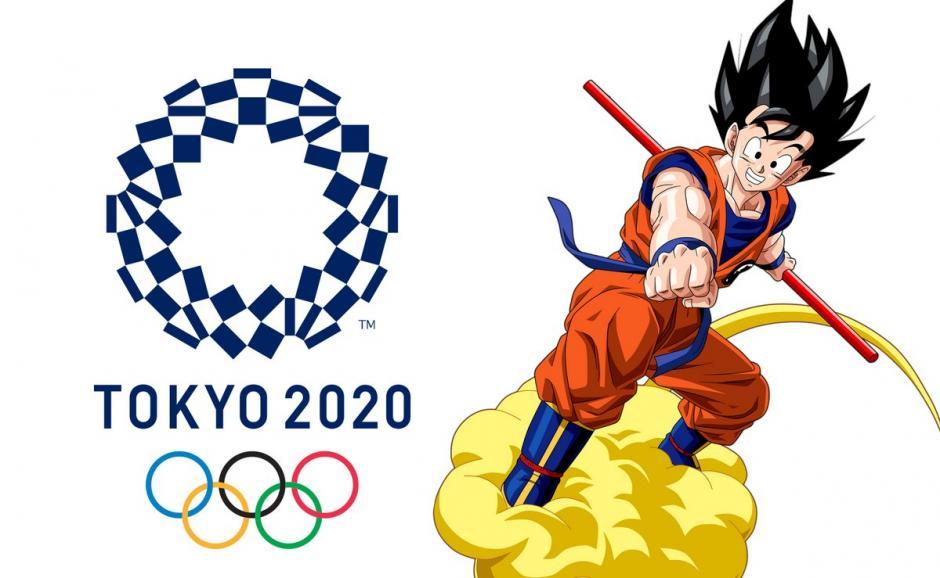 Gokú es el último fichaje de los Juegos Olímpicos Tokio 2020. (Foto: Twitter)