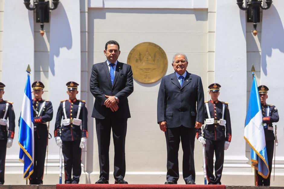 Es la primera visita oficial del mandatario en su primer trimestre de gobierno. (Foto: Secretaría)