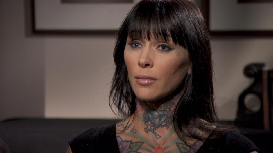 McGee también es modelo de tatuajes.  (Foto: insideedition.com)