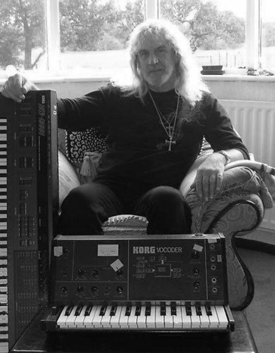 A los 68 años muere Geoff Nicholls, tecladista de Black Sabath. (Foto: Twitter)
