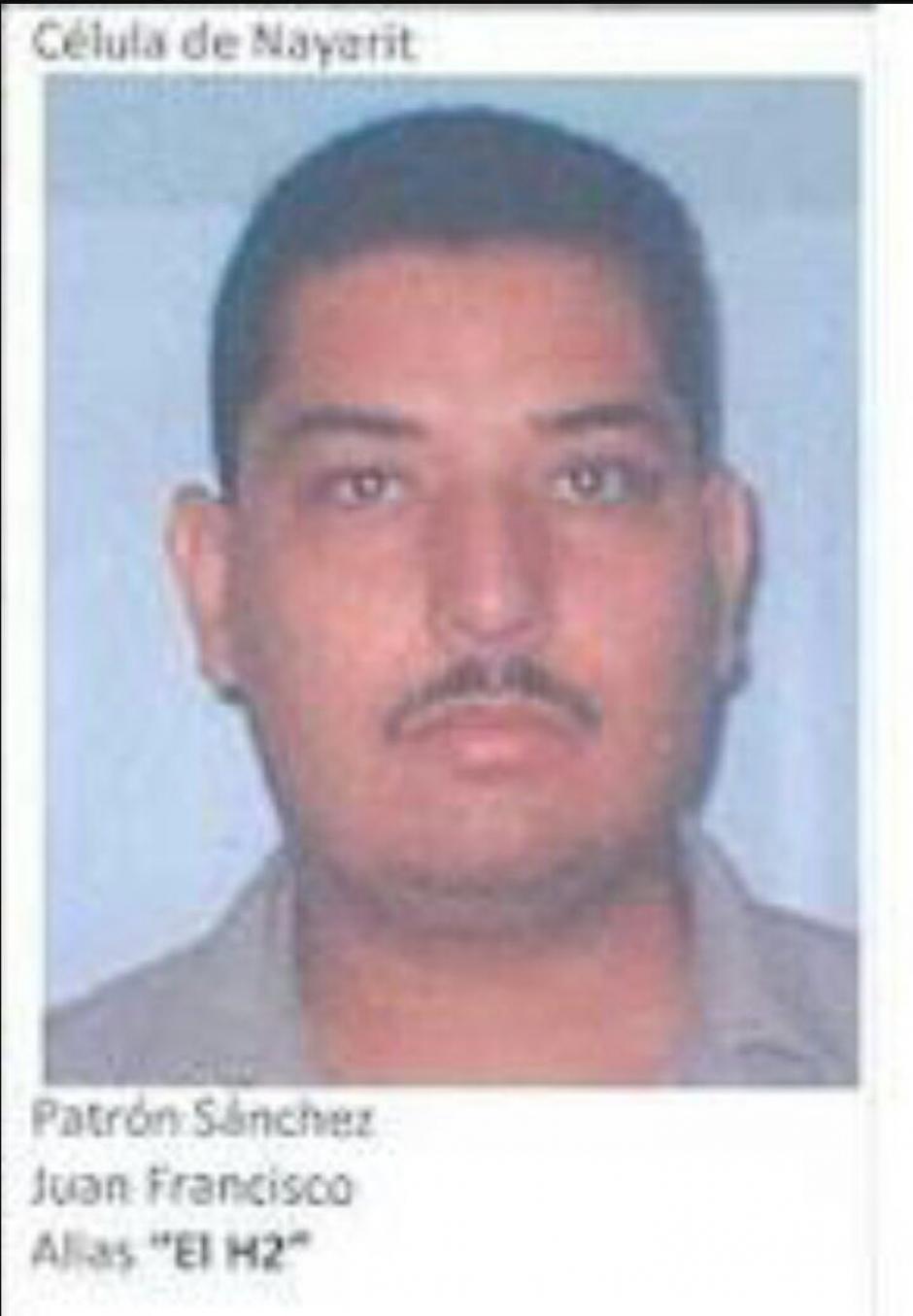 Juan Francisco Patrón Sanchez, alias el H2, murió en el operativo. (Foto: Twitter)