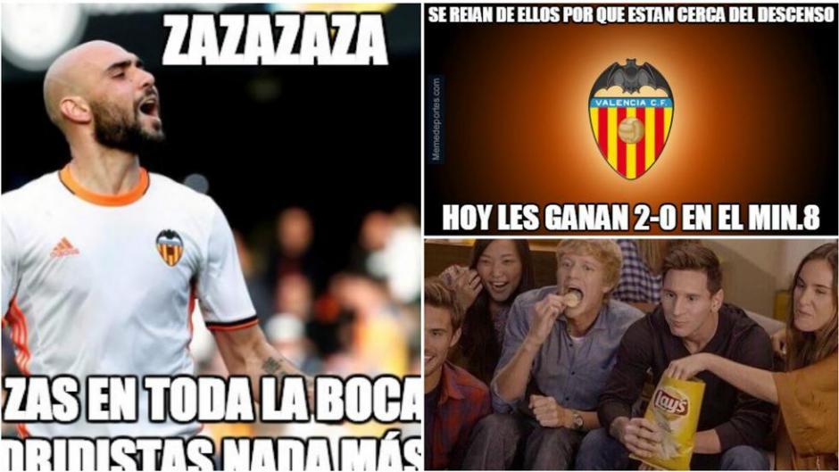 Memes al por mayor se burlan de la derrota del Madrid. (Foto: Twitter)