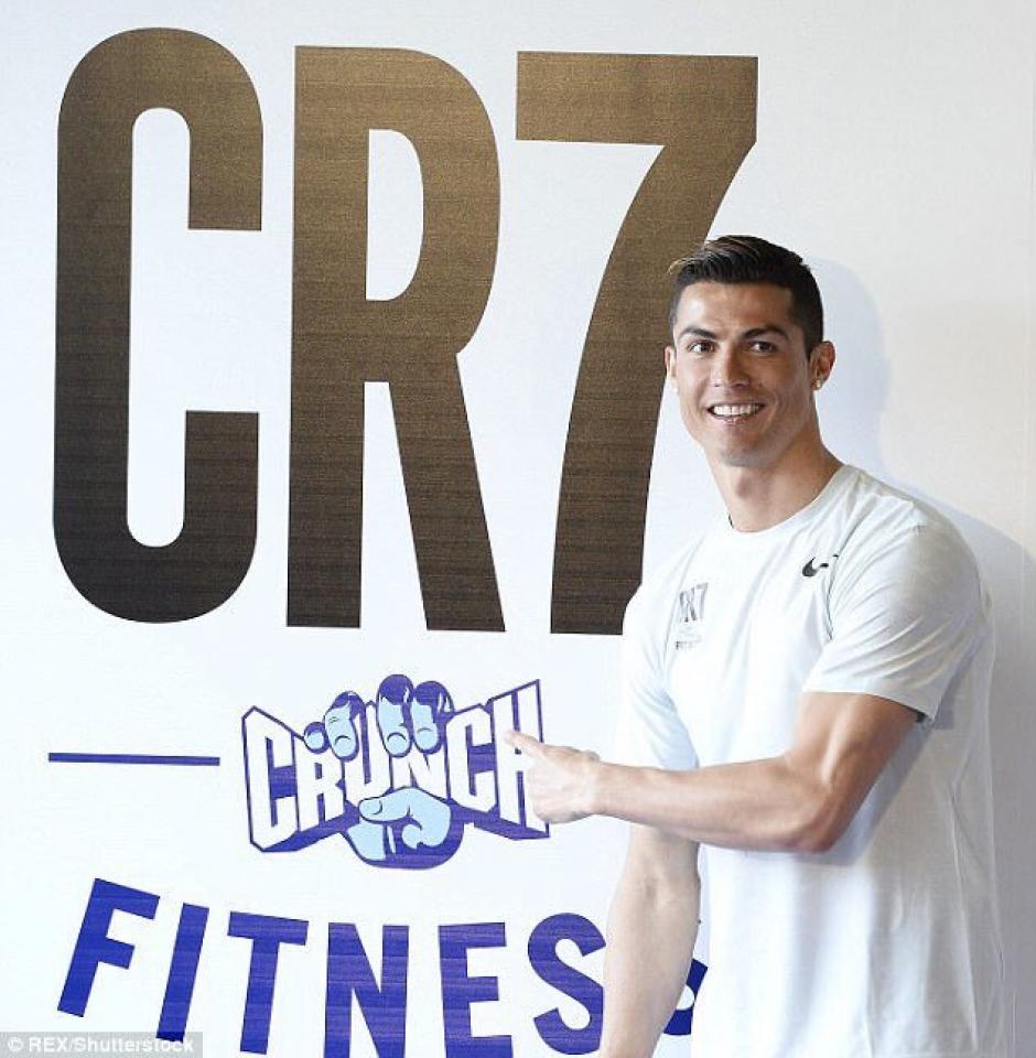 CR7 y Crunch Fitness abren un gimnasio en Madrid. (Foto: Twitter)
