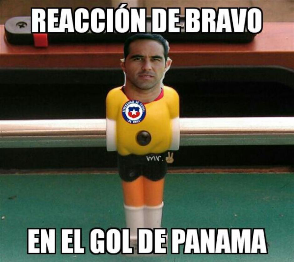 Claudio Bravo no tuvo su mejor partido con la selección chilena. (Foto: Twitter)