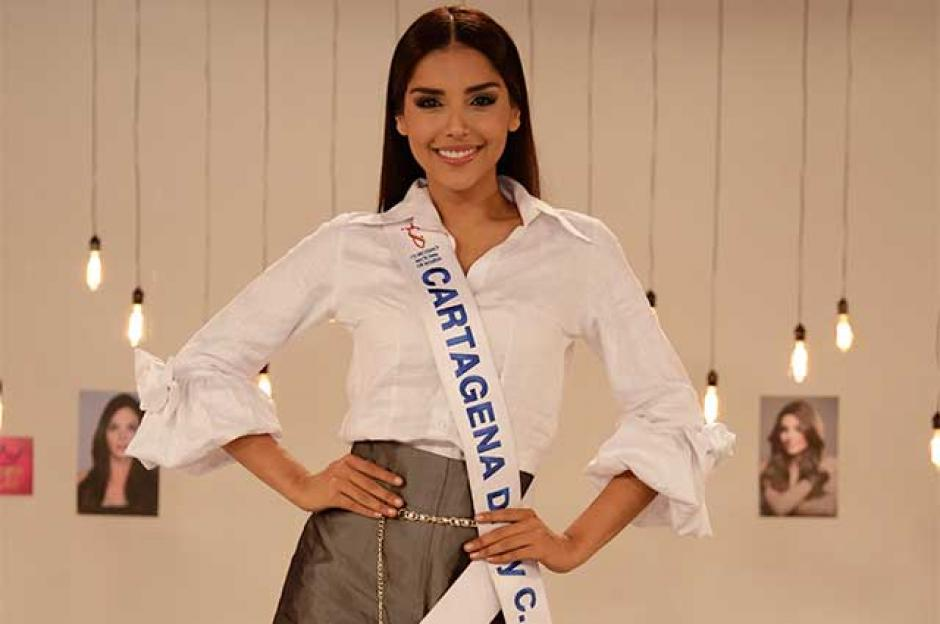 La bella Laura González es la representante de la belleza de Colombia.  (Foto: Twitter)
