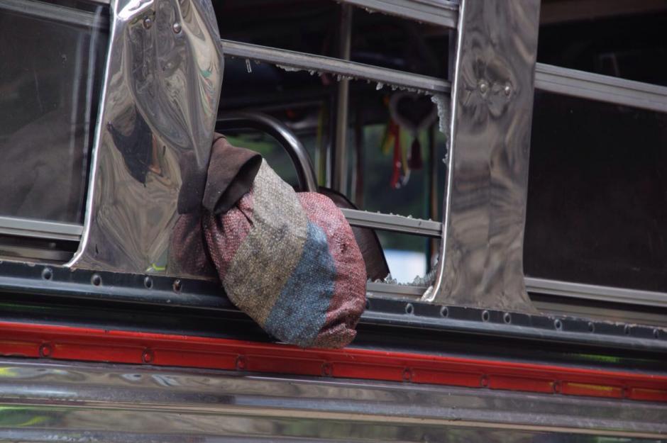 El autobús accidentado se dirigía hacia Quiché. (Foto: Fredy Hernández/Soy502)