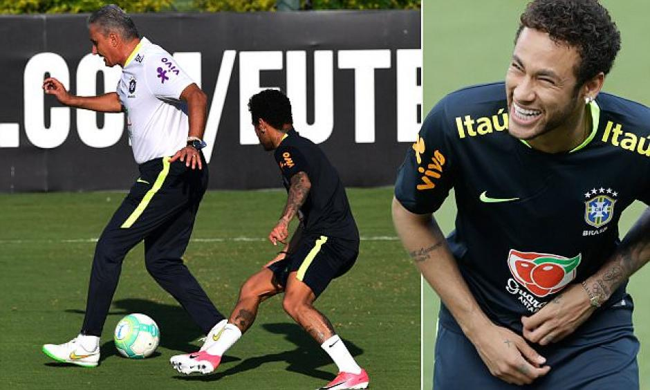 Parece que Tite le dio una lección a Neymar. (Foto: Twitter)