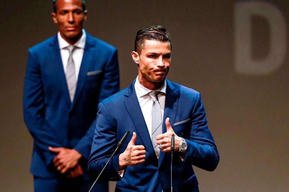 Cristiano Ronaldo fue electo como mejor futbolista portugués 201. (Foto: Twitter)