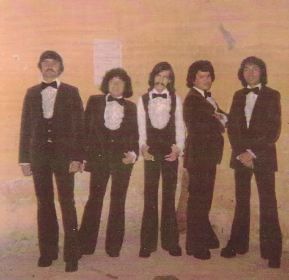 """La banda tuvo su apogeo en la década de 1970. """"Craker"""" aparece segundo de izquierda a derecha. (Foto: lasentrevistasdeheidy.blogspot.com)"""