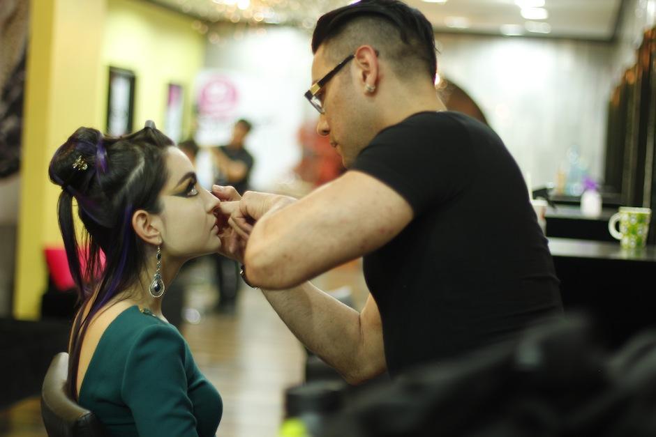 Expertos guatemaltecos en corte, color y cabello se dieron cita en este evento en Talkin Heads Guatemala. (FOto: NYPR Agency)