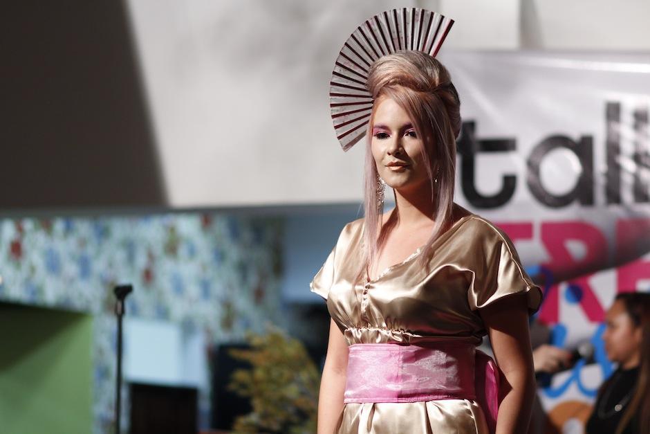 """Las tendencias mundiales en color. corte y peinado se expusieron en el """"trend Vision 2014"""". (Foto: Pablo Segura)"""