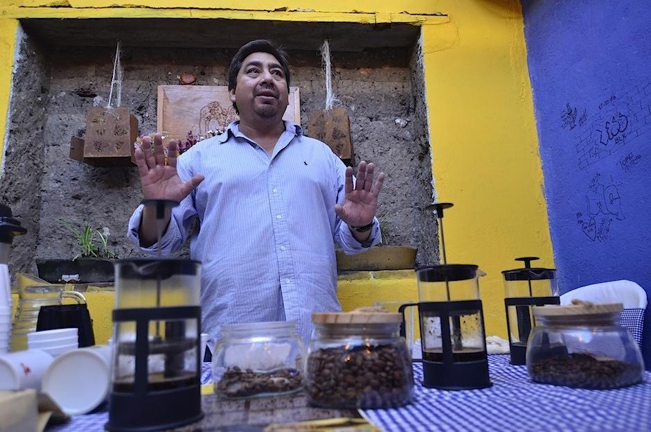 Si visitas Huehuetenango no puedes perderte esta curiosa degustación de café. (Foto: Selene Mejía/Soy502)