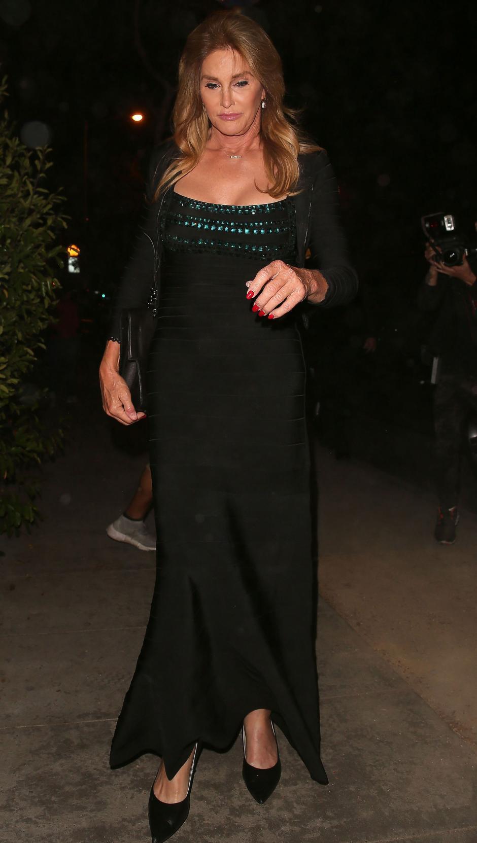 A la cena no podía faltar Caitlyn Jenner. (Foto: people)
