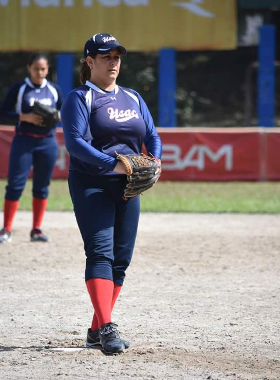 Patty Godoy y la Usac una historia de amor y éxito en el softbol guatemalteco. (Foto: Luis Barrios/Soy502)