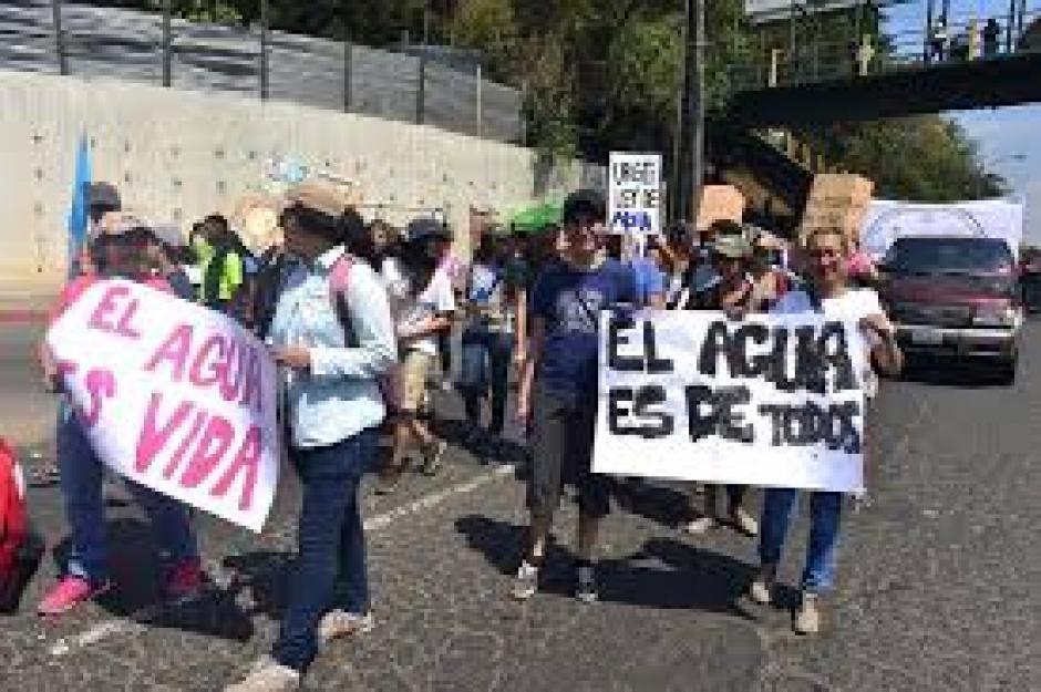 La marcha llegará a la Plaza Central para hacer sus peticiones. (Foto: Jesús Alfonso/Soy502)