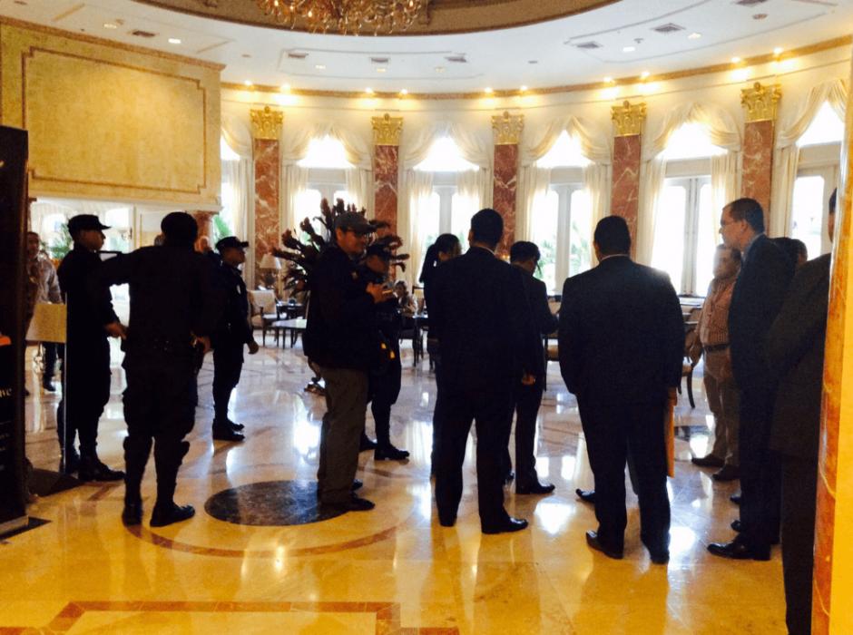 La intervención del Hotel Camino Real inició este lunes. (Foto: @SATGT/Twitter)