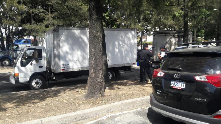 El paso en el lugar está cerrado según las autoridades de tránsito. (Foto: Dalia Santos/Tránsito PNC)