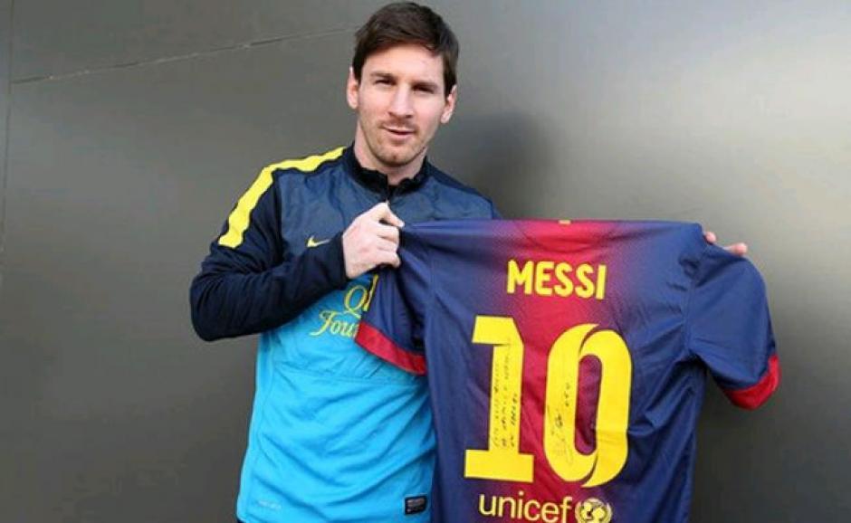 Lionel Messi y el Barcelona están en el segundo puesto de la venta de camisetas. (Foto: FC Barcelona)
