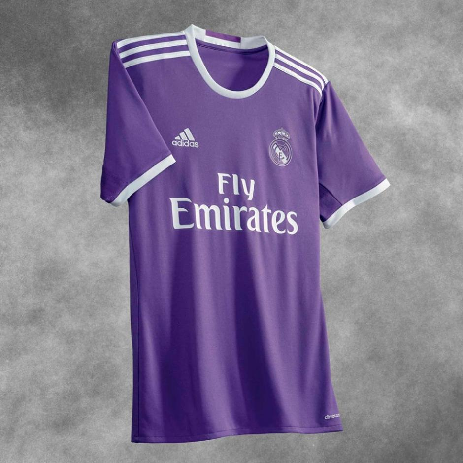 El color morado será usado como uniforme alternativo. (Foto: Facebook/Real Madrid)