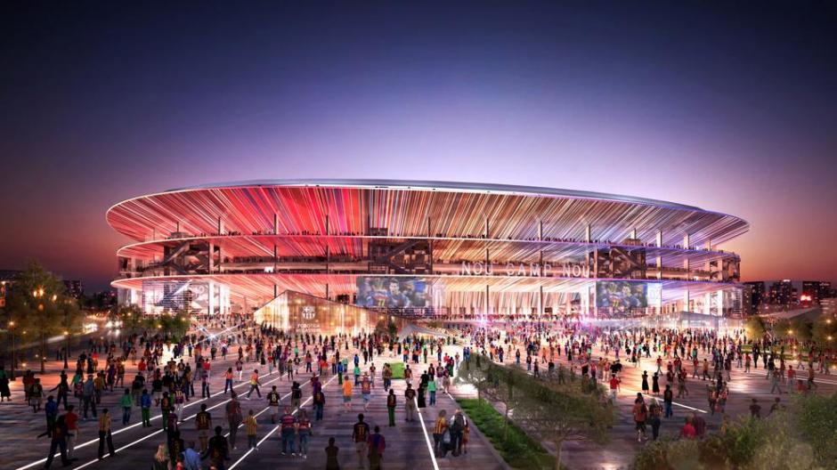 El nuevo Camp Nou será techado. (Foto: Twitter FC Barcelona)