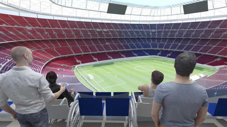 Entre 5 y 6 años tardará la construcción del nuevo estadio. (Foto: Twitter FC Barcelona)