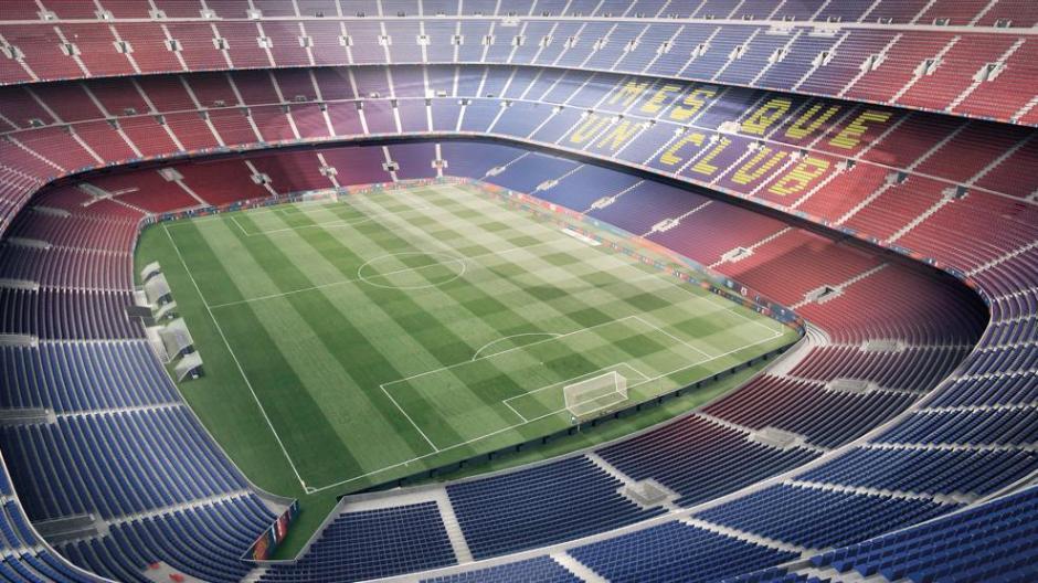 El actual estadio fue construido en 1957. (Foto: Twitter FC Barcelona)