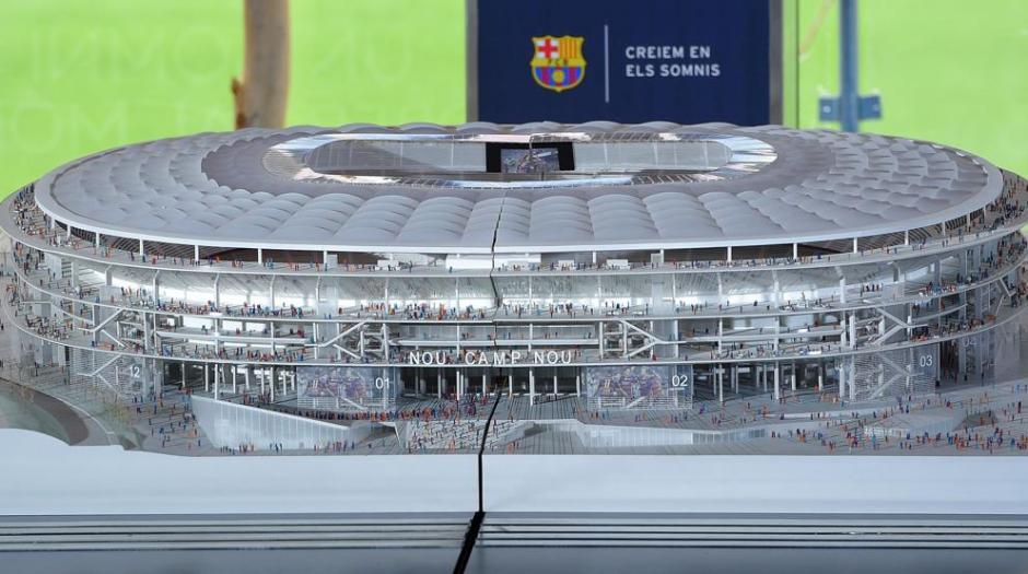 Se espera que el estadio sea terminado en 2022. (Foto: Twitter FC Barcelona)