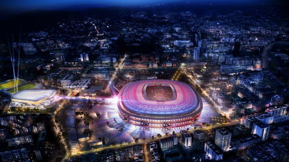 El FC Barcelona presentó detalles de como será su nuevo estadio. (Foto: Twitter FC Barcelona)