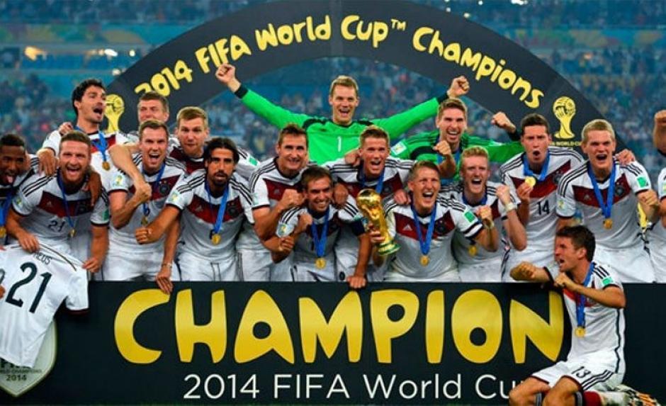 Alemania es el campeón vigente y al parecer no apoya la ampliación. (Foto: archivo)