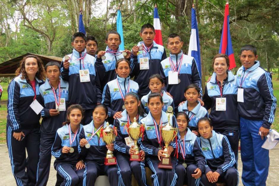 Guatemala ganó el medallero oficial, el de la categoría masculina y de la categoría femenina