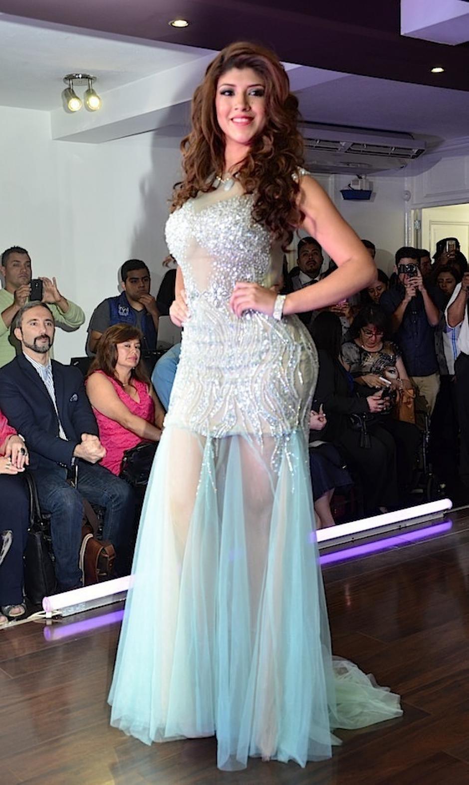 Miss Chiquimula es Aura Marina Guerra. (Foto: Selene Mejía/Soy502)