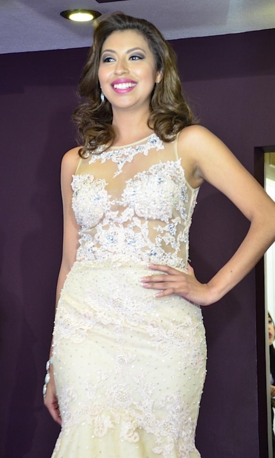 Sacatepéquez está representada por Sucell Imelda Barrientos. (Foto: Selene Mejía/Soy502)